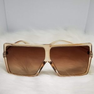 Oversized Brown Fashion Sunglasses