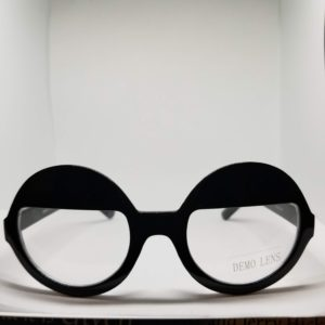 Retro Clear glasses with Black Frames